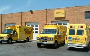 Ambulancias de los Hermanos Ballard en Wenatchee, Washington.