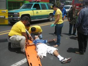 Lisiado Accidente: El Salvador