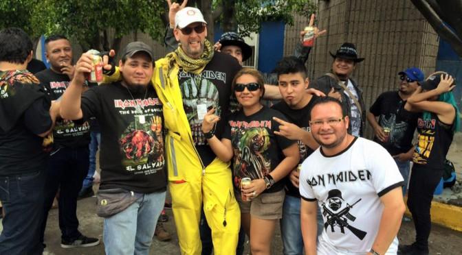 Comandos Apoyan Metalero Fans de Iron Maiden