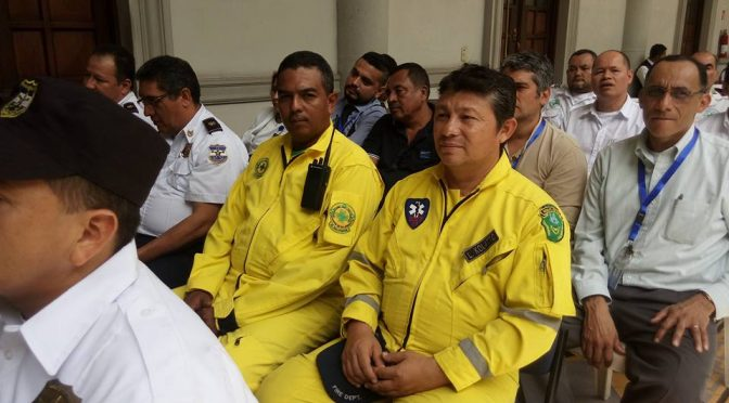 Recognized for Heroic Efforts at Tres Torres Fire