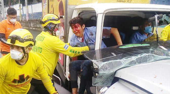 ACCIDENTES CONTINÚAN PESE A CUARENTENA