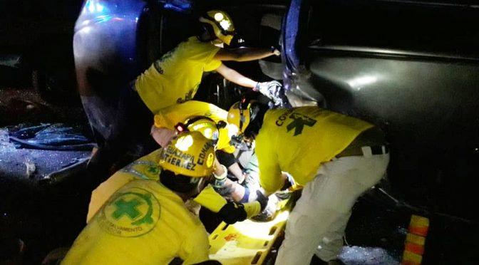 MUERTO Y LESIONADOS EN RACHA DE ACCIDENTES