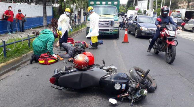 ACCIDENTES CONTINÚAN DEJANDO LESIONADOS