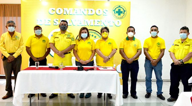 COMANDOS DE SALVAMENTO AGRADECE A MEDIOS