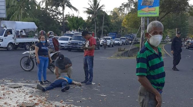 MUJER MUERE ACCIDENTE DE TRÁNSITO EN PANAMERICANA