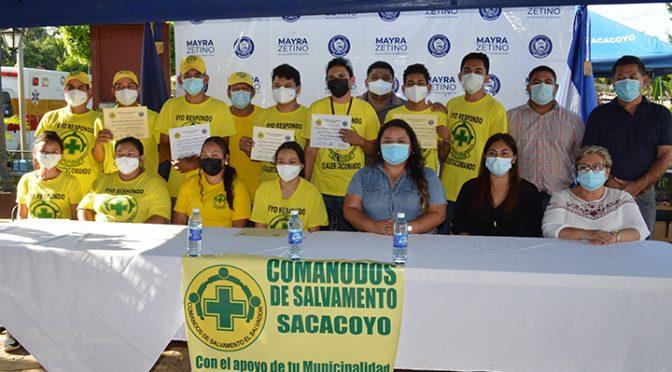 COMANDOS DE SALVAMENTO EN SACACOYO