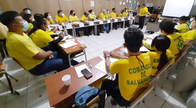 CAPACITAN NUEVOS VOLUNTARIOS DE COMANDOS
